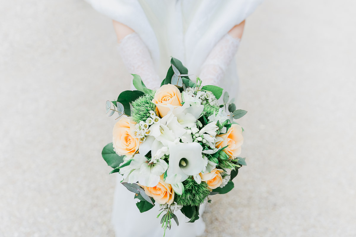 beau bouquet rose mariage mairie de villiers sur orge photographe frederico santos