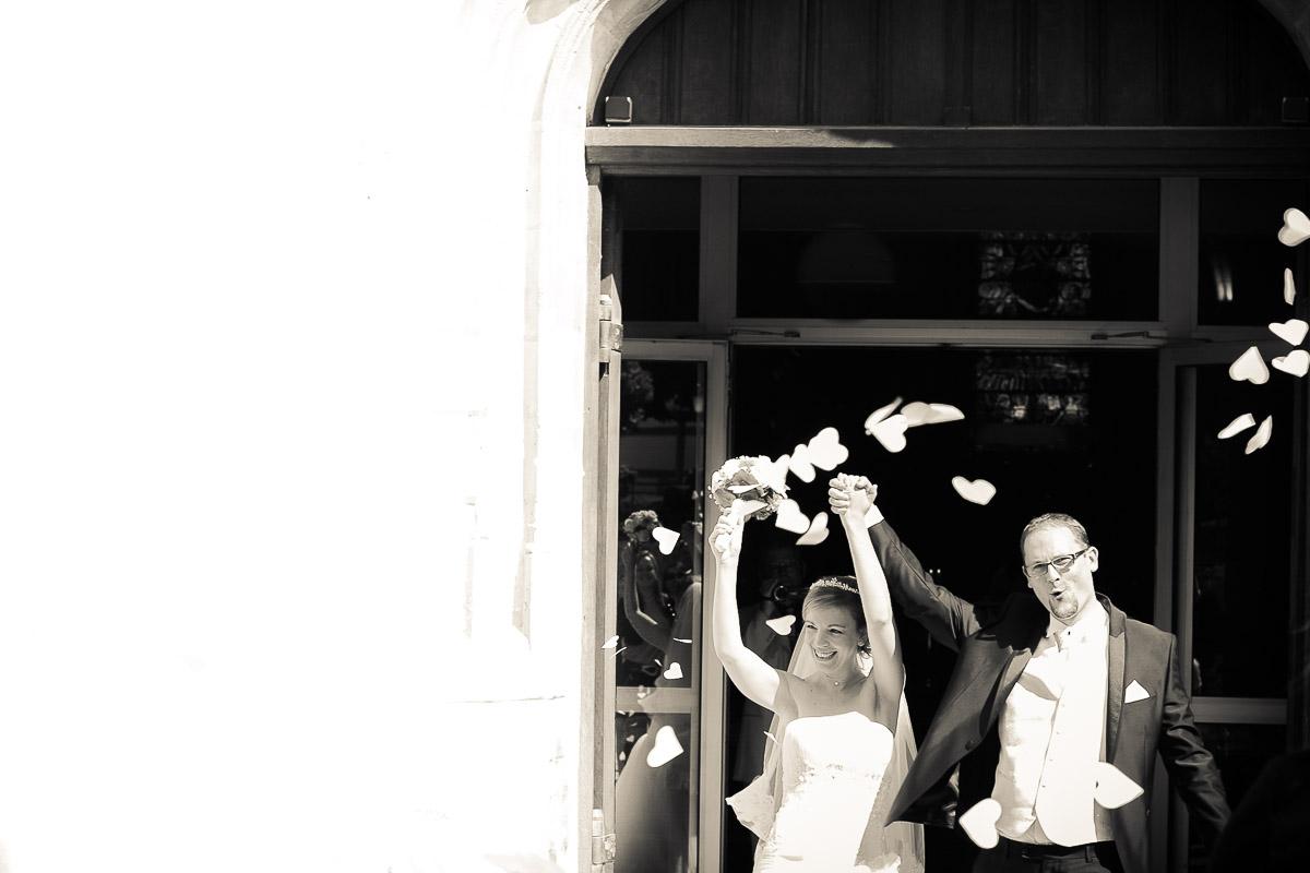sortie eglise antony saint saturnin mariage photographe
