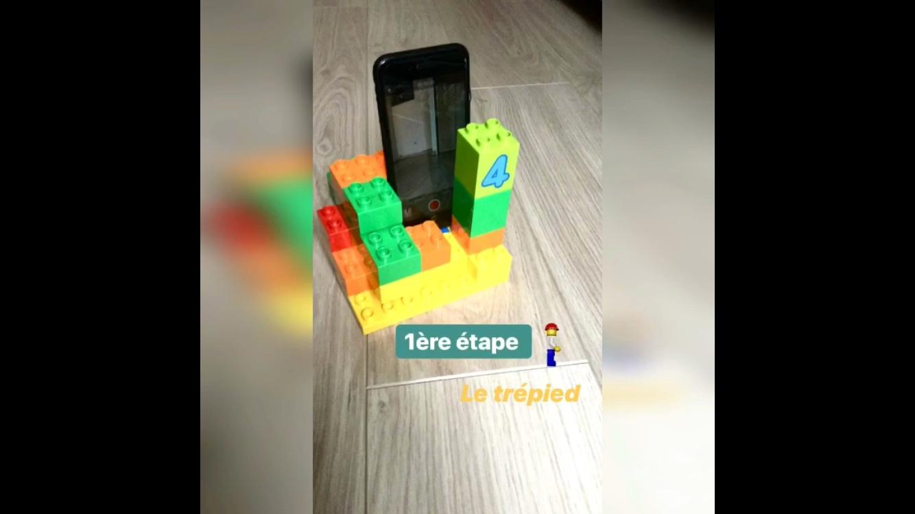trepied en lego pour iphone